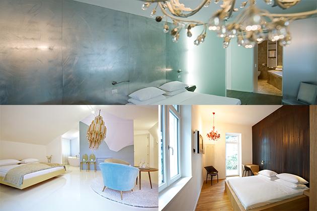 Kunstvoll eingerichtet: Zimmer im ImerpialArt