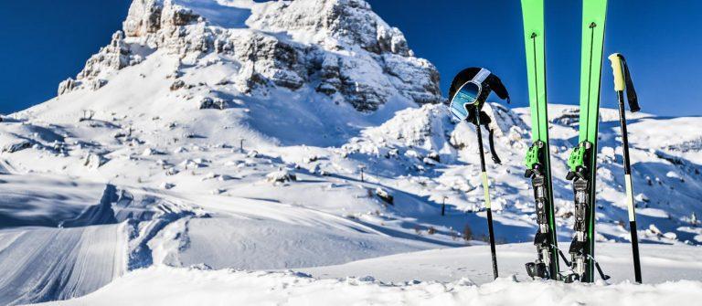 Skifahren in den Rocky Mountains – Eldorado Colorado