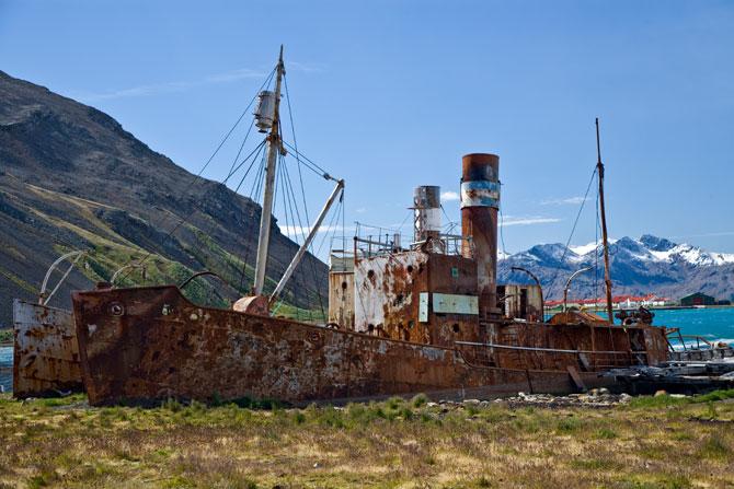 Walfangstation in Grytviken