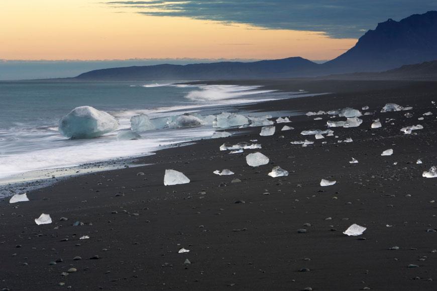 SCHWARZ: Jökulsárlón, Island