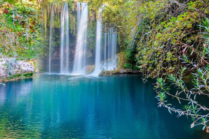 Kursunlu-Wasserfall in der Türkei