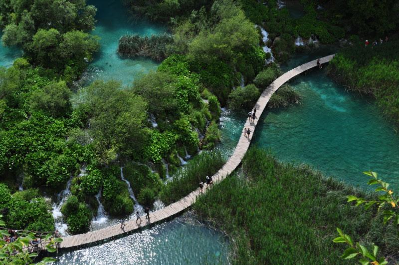 Wasserfall Plitvicer Seen, Kroatien