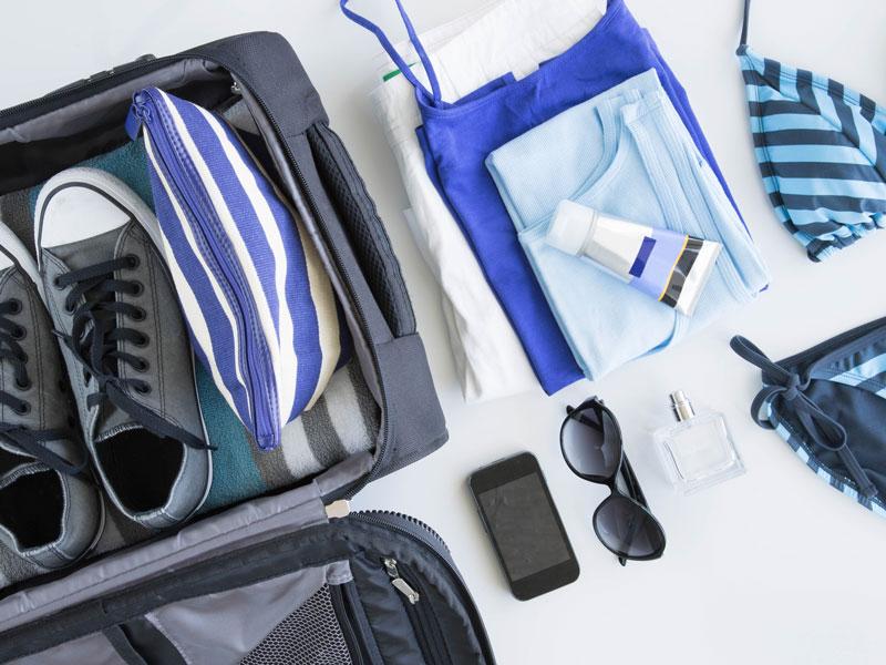Koffer packen Lifehacks