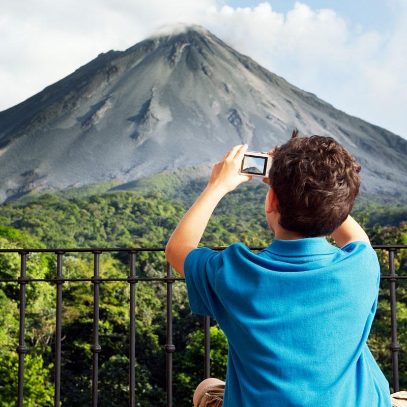 Vulkane und Tiere entdecken in Costa Rica