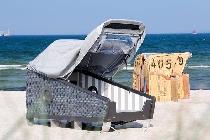 Strandschlafen an der Ostsee