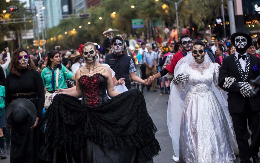 Día de Muertos in Mexiko