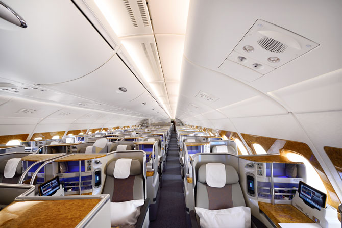 Emirates A380 Business-Class