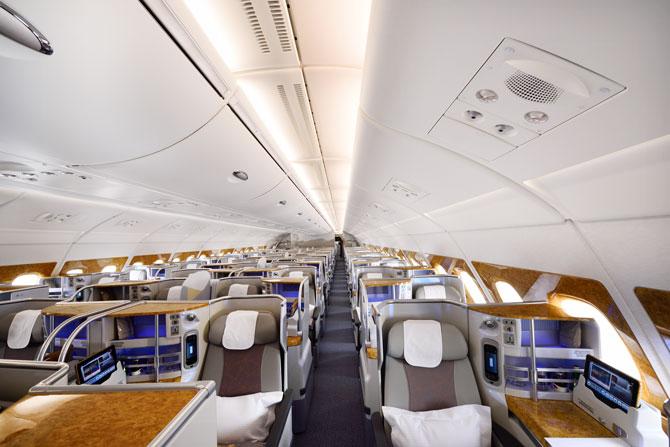 Emirates A380 Business-Class