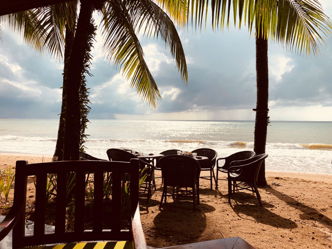 Thailand Strandbar