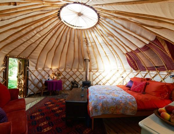 Glamping: So wird Campen glamourös