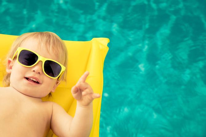 erster Urlaub mit Baby