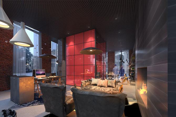 Moxy Hotel Tiflis Lounge