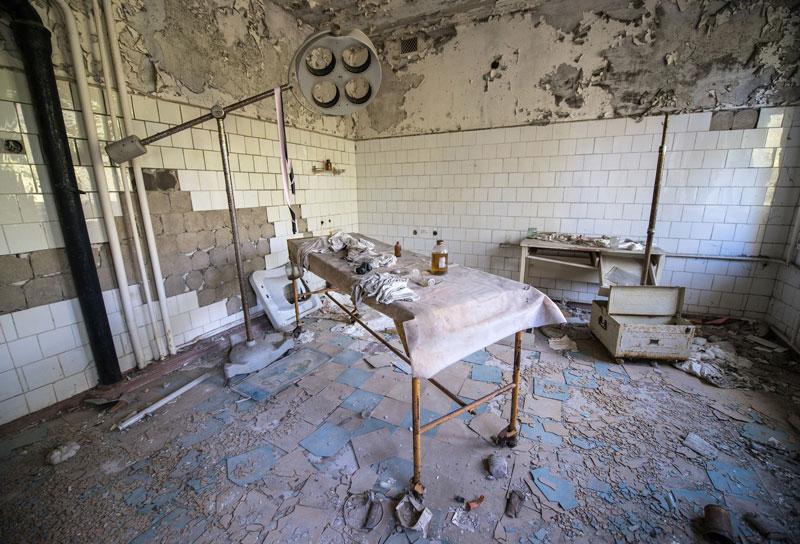 Prypjat Krankenhaus