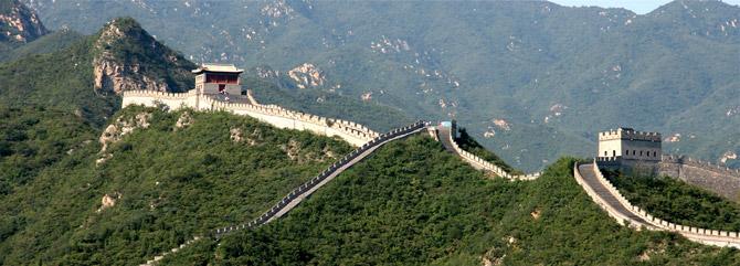 Chinesische Mauer Panorama