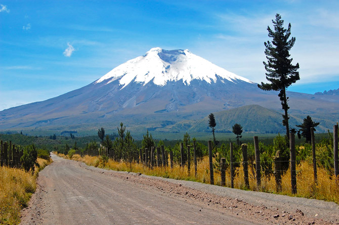 Quito Ecuador Bergwanderungen