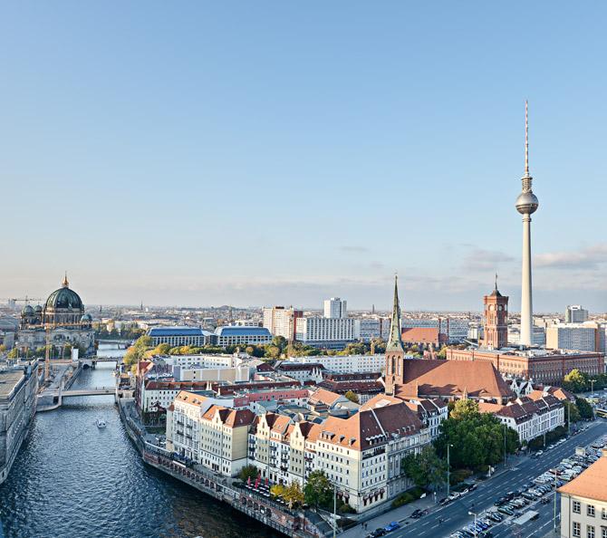 Sightseeing-Flug über Berlin