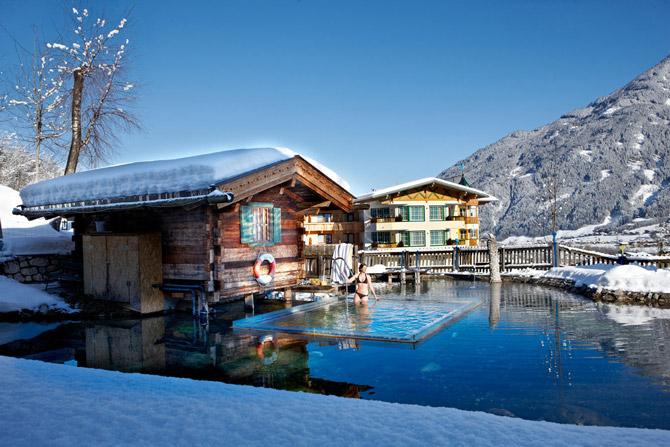 Familienhotel Seetal Talabfahrt & Sauna
