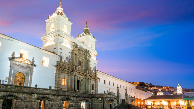 Quito Sightseeing mit Air France