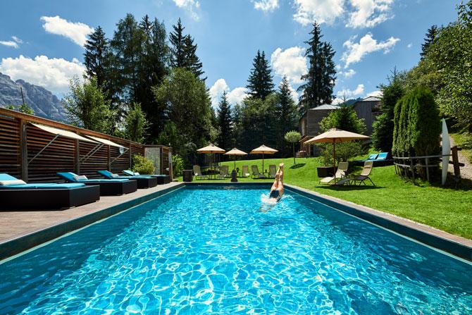 Sommerurlaub Dolomit Boutique Hotel