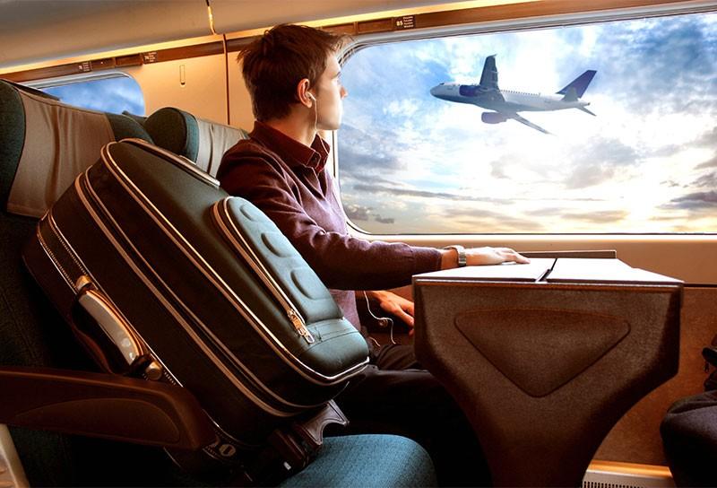 Auf diesen Strecken ist die Bahn schneller als das Flugzeug