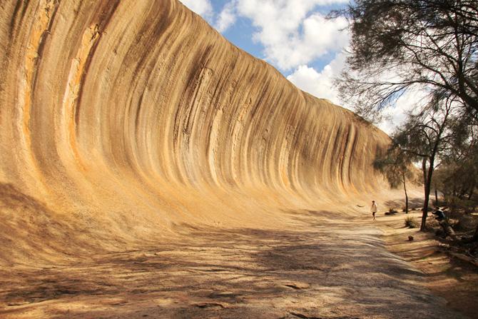 Australien Wave Rock