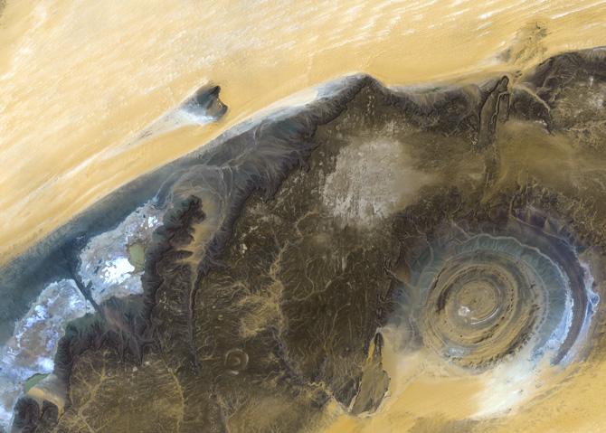 Guelb er Richat in Mauretanien