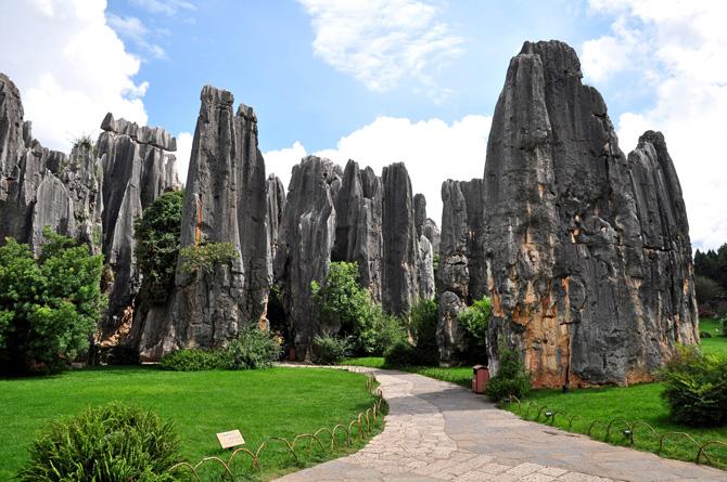 Chinas Steinwald in Shilin