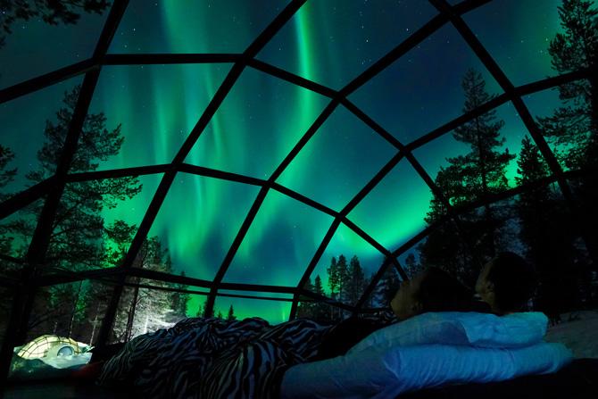 Glasiglu in Finnland
