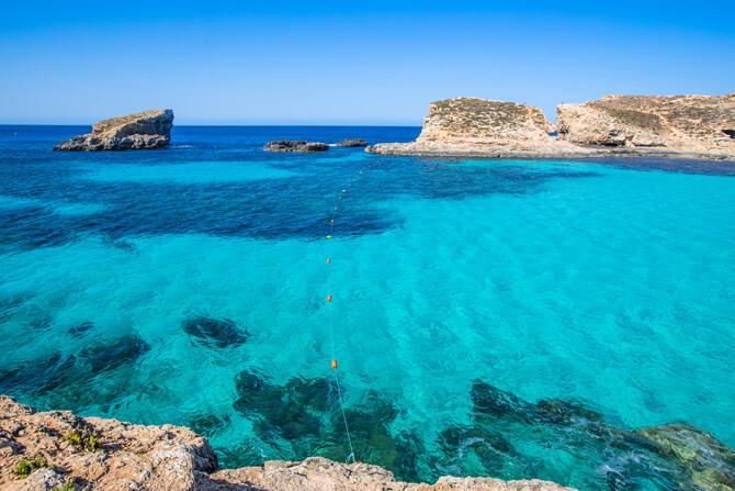 Malta Blaue Lagune