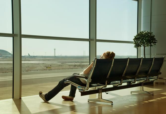 Flughafen Schlafen