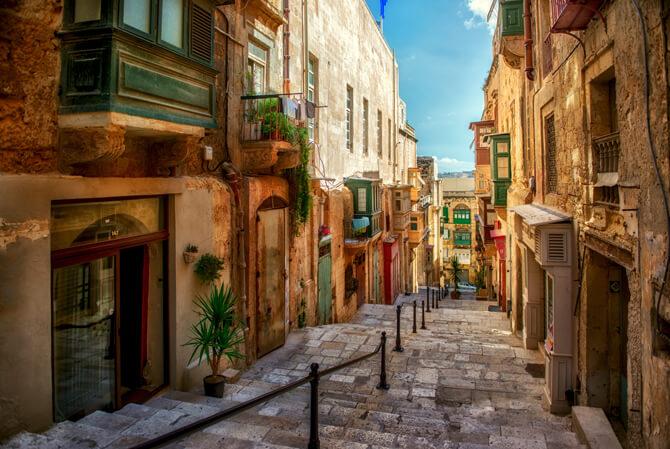Valletta Gassen