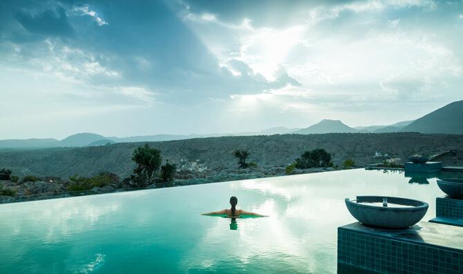 Anantara Al Jabal Al Akhdar Resort Pool Lifestyle