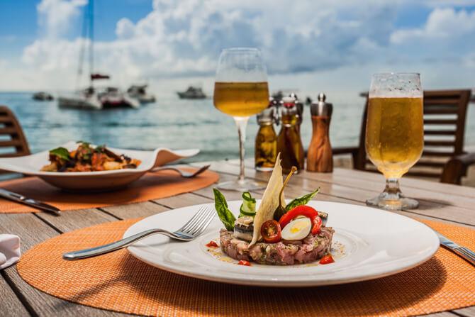 Essen im Beachcomber