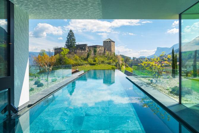 Ferienregion Lana Der Waldhof Pool