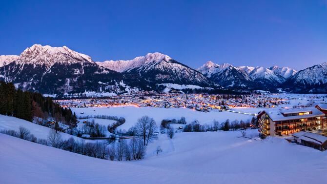 Oberstdorf im Winter