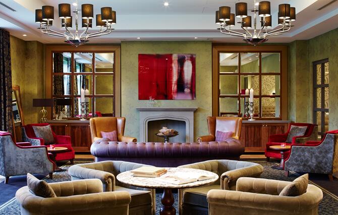 Aspria Uhlenhorst Lounge