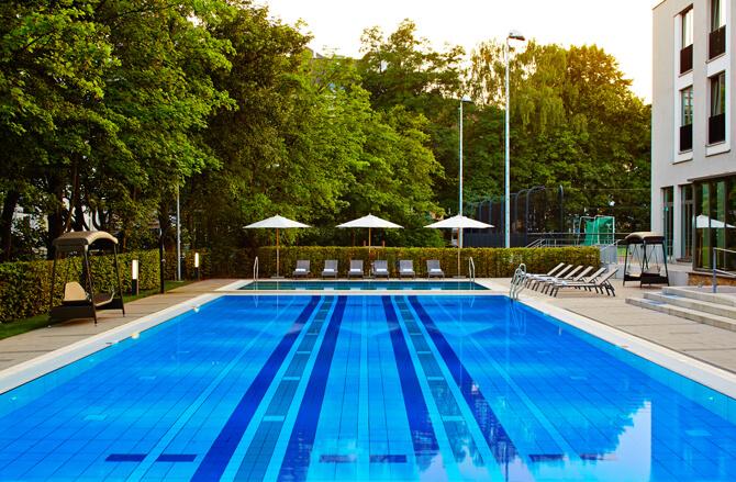 Aspria Uhlenhorst Outdoor Pool