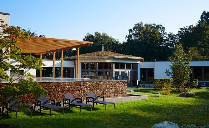 Aspria Uhlenhorst Saunagarten