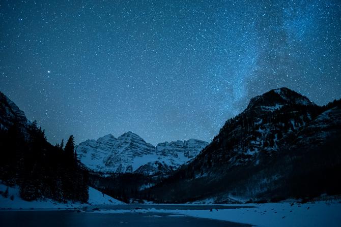 Aspen Snowmass Sternenhimmel