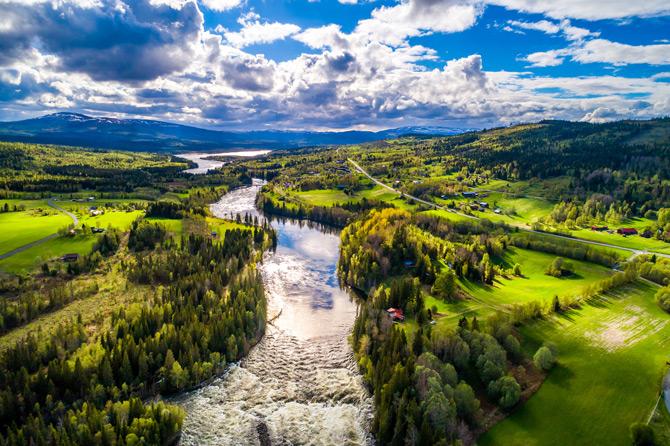 Schweden Natur Panorama