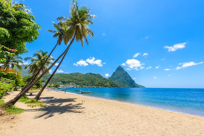 Dominica Karibik Strände und Meer