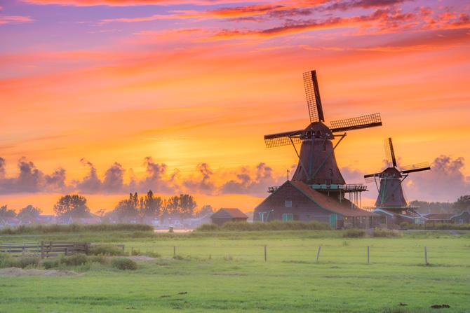 Holland Windmühlen