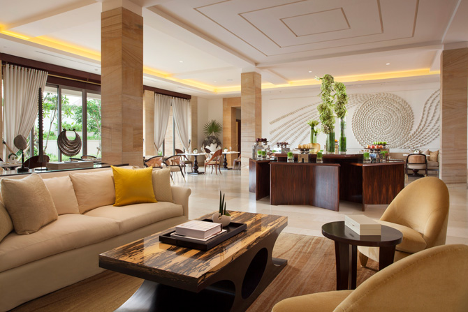 Mulia Villas Living Room Dining Area