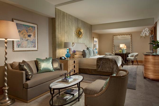 Mulia Resort Royal Suite Bedroom