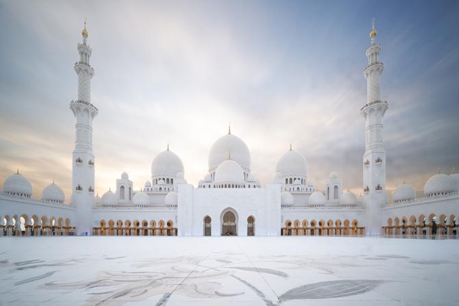 Sheikh Zayes Moschee Abu Dhabi