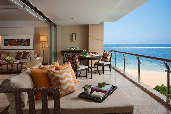 The Mulia The Earl Suite Patio