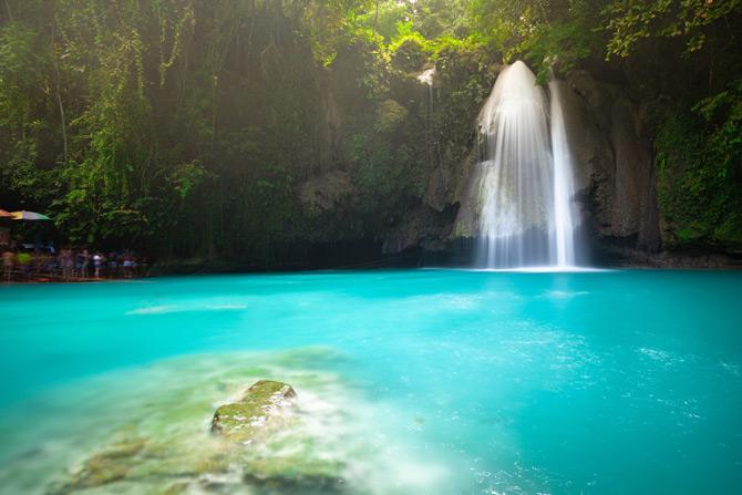 Kawasan Wasserfall Philippinen