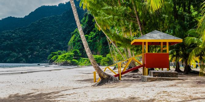 Trinidad und Tobago Karibik Strand