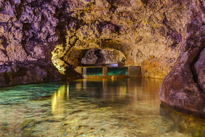 Vulkanhöhlen von Sao Vincente Maderia