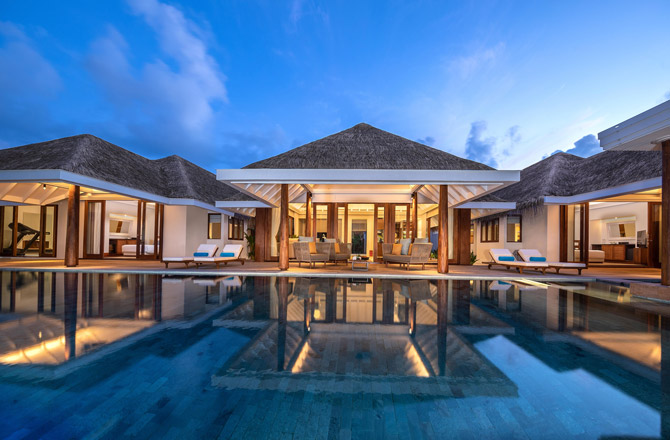 Anantara Kihavah View Two Bedroom Beach Pool Residence